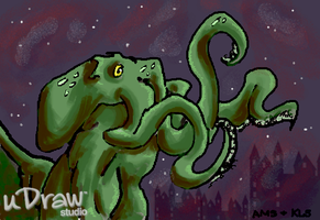 uDraw Cthulhu by darkpriestss