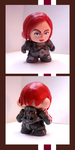 Commander Shepard Munny Toy by Garrenh
