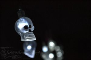 Glowing Skull by LifeStreamStudios