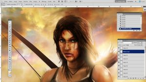 Tomb Raider  WIP by CyrilT