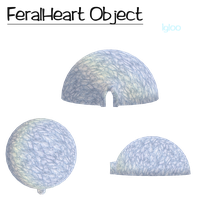 Feralheart Object | Igloo V.1 by Unio-Mentium
