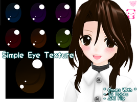 Simple Eye Texture Download by JuuRenka