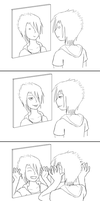 Self Reflections. by tenshiketsueki1000