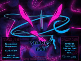 Tranc3 Haus Poster by Ommin202