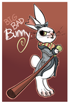 Big Bad Bunny by Dollfins