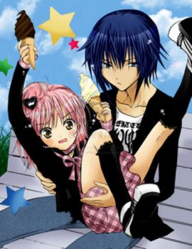 Ikuto and Amu by Senina