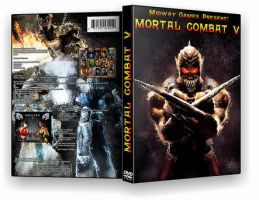 Mortal Combat V Game Cover by Memmus