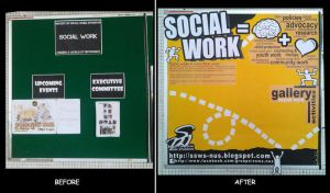 Society of Social Work Students Noticeboard by hockie