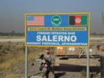 Greetings from FOB Salerno by beamer