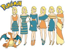 Pokemon fashion: Charizard by Willemijn1991