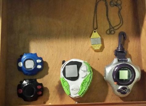 my digivice collection by Darkwing385