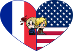 FranAme Shimeji Heart by LadyAxis