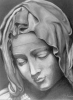 Blessed Mother by jfkpaint