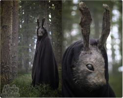 Creepy Rabbit Mask by Nymla