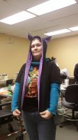cat ear hood scarf 2 by ArtsyShan