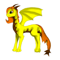 Adopted Dragoness by xX-Starduster-Xx