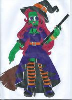 Monster High OC: Salem Spellcraft by animequeen20012003
