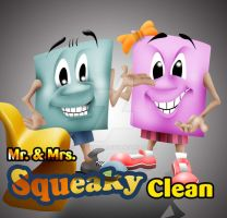 mr and mrs squeaky clean by aztigart
