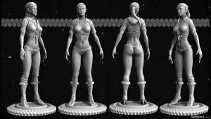 Urban Julia Chang HP Sculpt 2 by GDSWorld