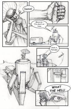 Page 4 of I KILL Robots by kurteinhaus