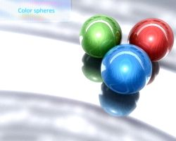 Color spheres by JustDippin