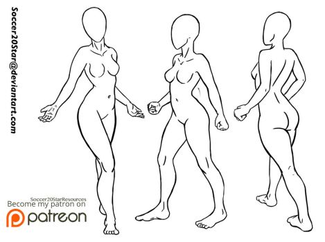 Free 2 Use: Pose Set 2 by CourtneysConcepts
