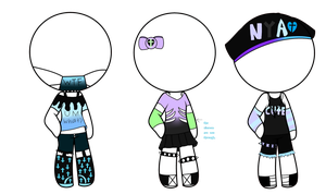 pastel goth clothes adopt(closed) by Lilah-ppg2442