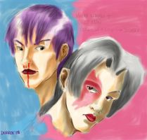 Manly Woman and Girly Man by Derrot