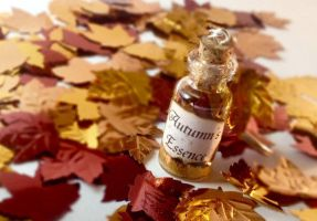 Autumns Essence Bottle Charm by SophieXSmith
