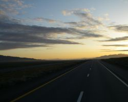 Nevada Morning I-80 by archambers