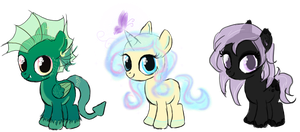 Adoptable filly batch III CLOSED by Lost-in-Equestria