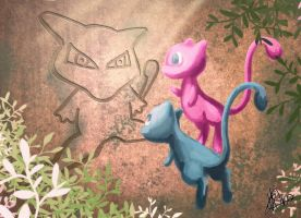 Ancient Mew by heather-may