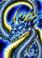 Blue Dragon by Ooh-A-piece-of-Candy