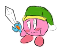 Kirby Drawn in a mediocre manner (WIP) by Oclictis1