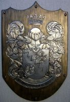 Coat of Arms Marquis Carreiro de Oliveira by CacaioTavares