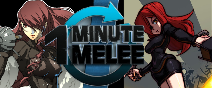 One Minute Melee Idea 1: Mitsuru vs. Parasoul by BurningKikoken