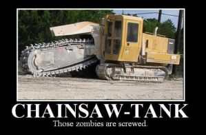 Chainsaw Tank by darkmessenger84