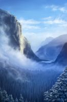 Misty Mountain by imagedeli