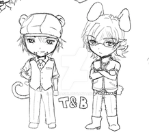 Doodle - Tiger and Bunny by akayashi