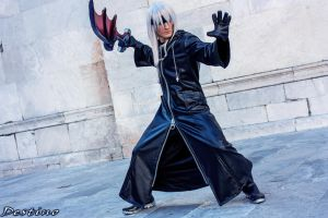 Riku Cosplay - Kingdom Hearts 2 by Leon Chiro by LeonChiroCosplayArt