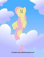 Fluttershy can really fly by Ced75