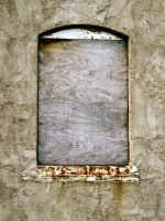 Old Window III by Baq-Stock