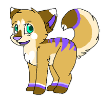 Sand and Lavender Canine (OPEN) by Bailey-Kat
