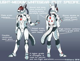 Whitegear- Pilot by kittiara
