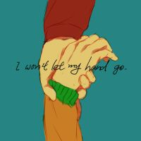 Won't Let My Hand Go by xizuchan