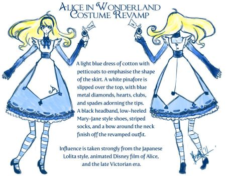 Alice: Revamped Costume by Sno-Oki