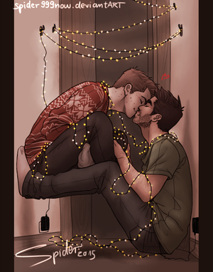 Sterek- Lights by spider999now