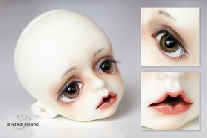 Baby Raphael: face-up by Labeculas-Dollhouse
