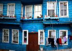 Blue House by TanBekdemir