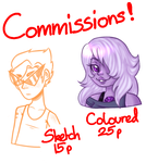 commissions! {closed for now} by Athene112